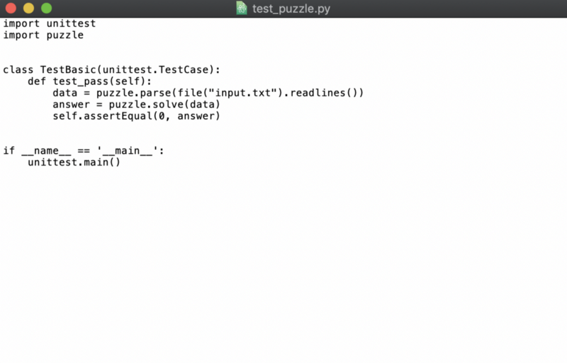 Python code in TextEdit on the Mac